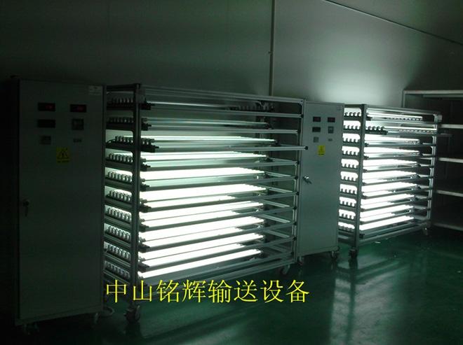 上海日光灯老化架